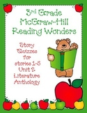 3rd Grade McGraw-Hill Reading Wonders Unit 2 Vocabulary &