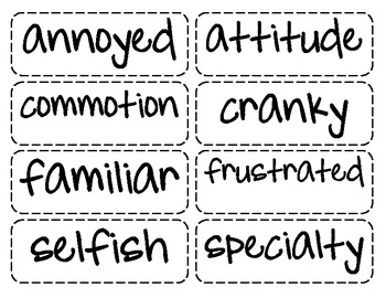 McGraw-Hill Reading Wonders Grade 4 Unit 2 Spelling and Vocabulary Word Cards