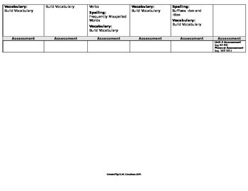 McGraw-Hill Reading Wonders Grade 6 Unit 3 Plan