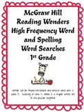 McGraw Hill Reading Wonders High Frequency Word and Spelli