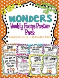Kindergarten Focus Wall Posters to Correlate with Wonders {UNITS 1-10 BUNDLE!}
