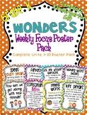 Kindergarten Focus Wall Posters to Correlate with Wonders