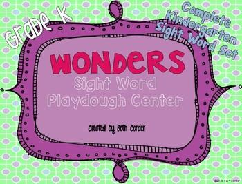 McGraw-Hill Reading Wonders Kindergarten Sight Word Play D