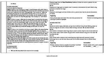 McGraw-Hill Reading Wonders Kindergarten UNIT 1 ELL Small Group Plans