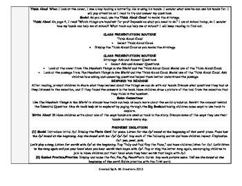 McGraw-Hill Reading Wonders Kinder UNIT 1 WEEKS 1-3 Whole Group Plans **BUNDLE**