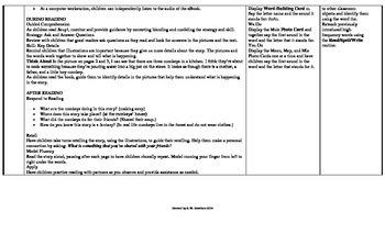 McGraw-Hill Reading Wonders Kindergarten UNIT 5 Small Group Plans **BUNDLE**