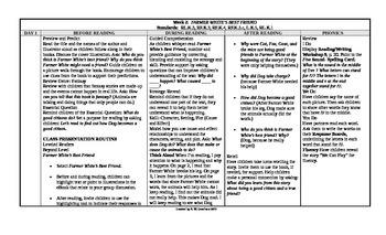 McGraw-Hill Reading Wonders Kindergarten UNIT 9 Beyond Small Group Plans