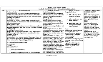 McGraw-Hill Reading Wonders Kindergarten UNIT 9 On Level Small Group Plans