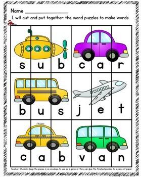 McGraw Hill Reading Wonders Kindergarten Unit 8 week 1