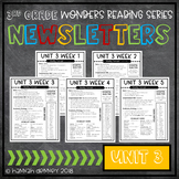 McGraw Hill Reading Wonders Newsletters 3rd Grade Unit 3