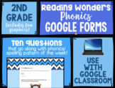 McGraw-Hill Reading Wonders Phonics 2nd Grade Google Forms