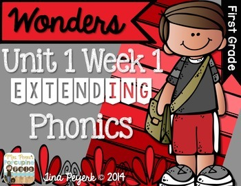 Extending Phonics with Wonders for First: Unit 1 Week 1