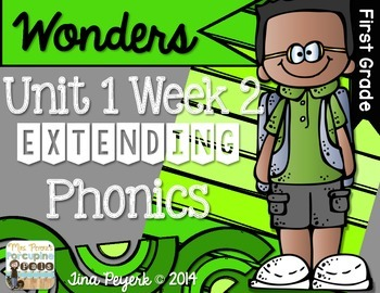 Extending Phonics with Wonders for First: Unit 1 Week 2