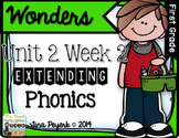 Extending Phonics with Wonders for First: Unit 2 Week 2