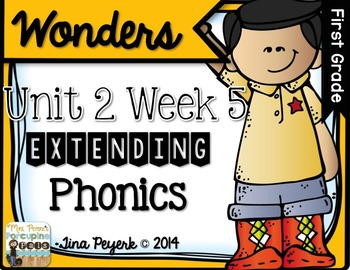 Extending Phonics with Wonders for First: Unit 2 Week 5