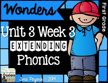 Extending Phonics with Wonders for First: Unit 3 Week 3