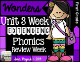 Extending Phonics with Wonders for First: Unit 3 Week 6