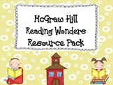 McGraw Hill Reading Wonders Resource Pack 1st Grade