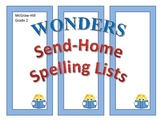 McGraw-Hill Reading Wonders SEND-HOME SPELLING LISTS - Gra