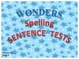 McGraw-Hill Reading Wonders SENTENCE SPELLING TESTS - Grad
