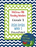 McGraw-Hill Reading Wonders Start Smart Week 1 Bundle PowerPoint