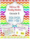 McGraw-Hill Reading Wonders Start Smart Week 1 Day 1 FlipChart