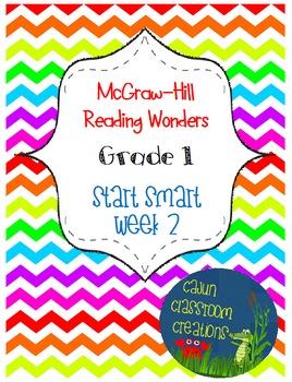 McGraw-Hill Reading Wonders Start Smart Week 2 Flipcharts