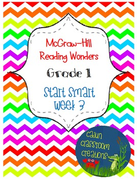 McGraw-Hill Reading Wonders Start Smart Week 3 Flipcharts