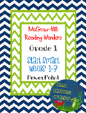 McGraw-Hill Reading Wonders Start Smart Weeks 1-3 PowerPoi