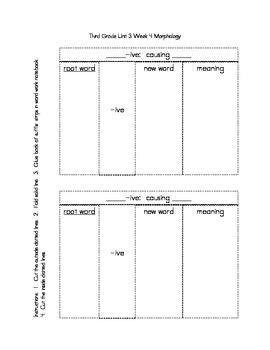 McGraw-Hill Reading Wonders Third Grade Unit 3 Week 4 Build Vocabulary Bundle