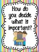 Third Grade Weekly Focus Wall Posters to Correlate with Wonders - UNIT 6