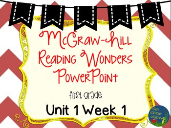 Wonders Unit 1 Week 1 PowerPoints