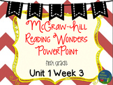 Wonders Unit 1 Week 3 PowerPoints