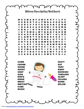 McGraw Hill Reading Wonders © 2nd Grade Unit 4 Week 1 Spelling Word Search