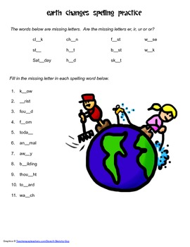 McGraw Hill Reading Wonders © 2nd Grade Unit 4 Week 2 Spelling Practice