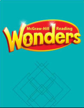 McGraw Hill Reading Wonders Unit 5, Weeks 1-5 Workstation Bundle