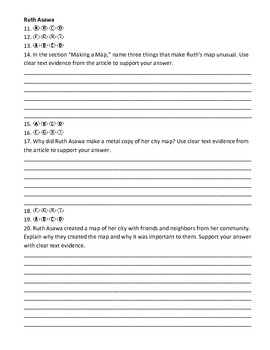 McGraw Hill Reading Wonders Unit Test Answer Documents