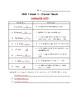 McGraw Hill Reading Wonders Vocabulary Quiz - Grade 4 Unit
