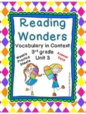 McGraw-Hill Reading Wonders Vocabulary in Context Unit 3-
