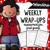 Wonders Weekly Wrap-Ups ~ Assessment for First Grade Reading