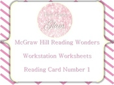 McGraw Hill Reading Wonders Workstation Worksheets