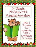 3rd Grade McGraw-Hill Reading Wonders Unit 1 Vocabulary &