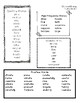 McGraw Hill Second Grade Unit 6 Word lists