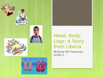 McGraw Hill Treasures Gr.2: Head, Body, Legs: A Story from Liberia Vocab Routine