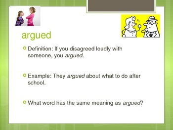McGraw Hill Treasures Gr.3: Seven Spools of Thread Vocab Routine