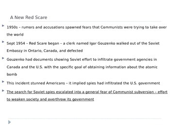 McGraw Hill US History Ch 13 Lesson 3 Cold War and American Society