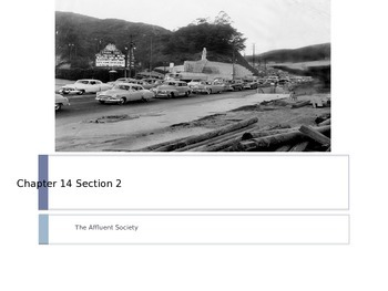 McGraw Hill US History Ch 14 Lesson 2 The Affluent Society Postwar WWII America