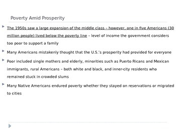McGraw Hill US History Ch 14 Lesson 3 Post WWII The Other Side of American LIfe