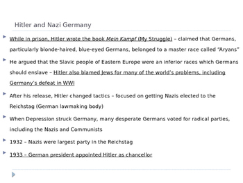 McGraw Hill US History and Geography Ch 11 Lesson 1 Origins WWII World War Two