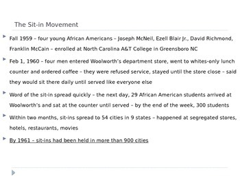 McGraw Hill US History and Geography Ch 16 Lesson 2 Challenging Segregation